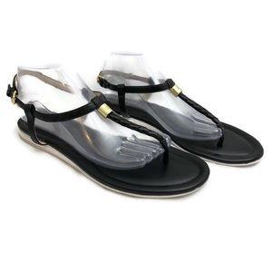 Cole Haan Øriginal Grand OS Black Braided Sandal